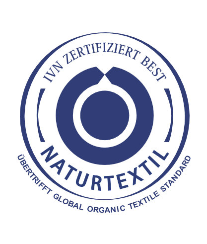 Textil Label IVN BEST Logo